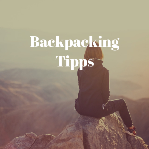 backpacking tipps