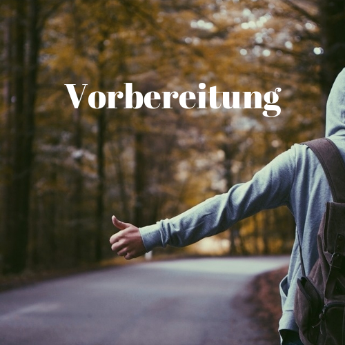 backpacking vorbereitung