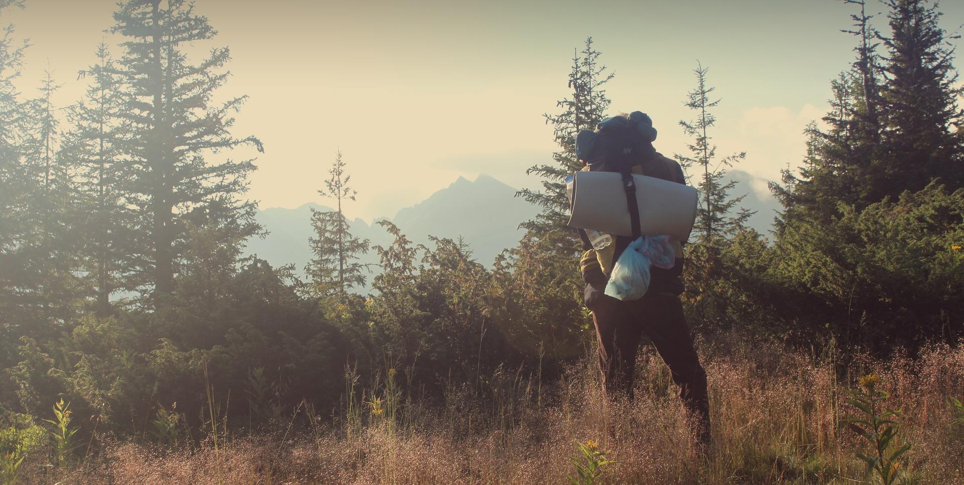 backpacking ausrüstung