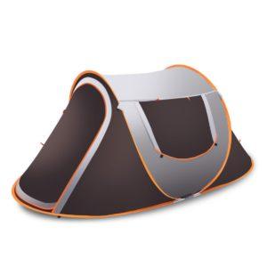 3-4 Person Familie Instant Pop Up Zelt Im Freien Wasserdichte Camping Wandern Zelt