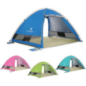 Automatische Instant Pop Up Strand Zelt Leichte Outdoor UV ProtectionTent Wasserabweisend Camping Zelt Cabana Sun Shelter 3-4 Personen