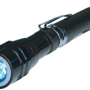 BRÜDER MANNESMANN LED-Teleskop-Taschenlampe mit Magnetheber