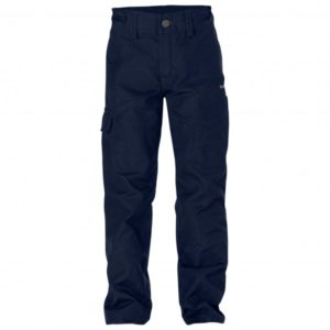 Fjällräven - Kid's Övik Trousers - Trekkinghose Gr 146 schwarz/blau
