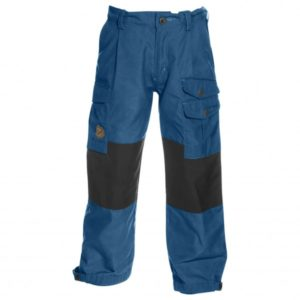 Fjällräven - Kids Vidda Trousers - Trekkinghose Gr 140 blau/schwarz