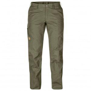 Fjällräven - Women's Karla Pro Trousers - Trekkinghose Gr 34 - Regular - Raw Length oliv/grau