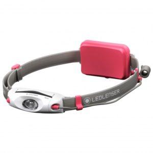 Ledlenser - Neo 4 - Stirnlampe grau/rosa