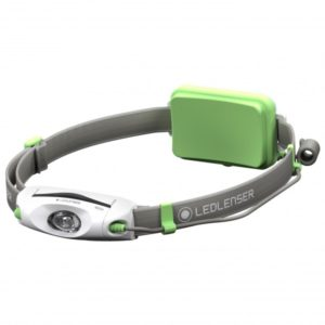 Ledlenser - Neo 4 - Stirnlampe schwarz;grau/grün;grau/rosa