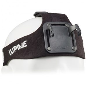 Lupine - HD Stirnband Betty R - Stirnlampe schwarz/weiß/grau