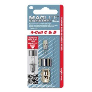 Maglite MagnumStarII Glühlampe Xenon für 4 C- & D-Cell Taschenlampe