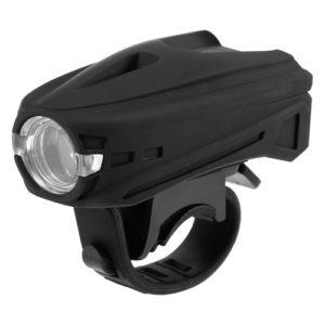 Noten-Schalter-Fahrrad-Licht USB aufladbare Fahrrad-Frontlicht 250LM LED Fahrrad-Frontscheinwerfer MTB-Fahrrad-Radfahren Fahrrad-Sicherheits-Warnlicht-Taschenlampe
