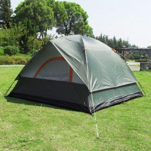 Outdoor 4 Personen Abenteuer Doppelschicht Zelt
