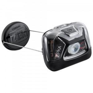 Petzl - Stirnlampe Zipka - Stirnlampe schwarz/grau