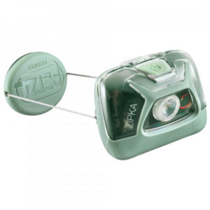 Petzl - Stirnlampe Zipka - Stirnlampe schwarz/grau;grau