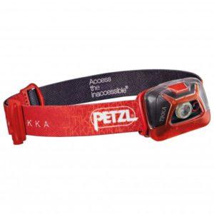 Petzl - Tikka - Stirnlampe grau/türkis;rot/schwarz;schwarz/braun/grau