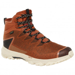 The North Face - Ultra Fastpack III Mid GTX Woven - Wanderschuhe Gr 13 braun/rot