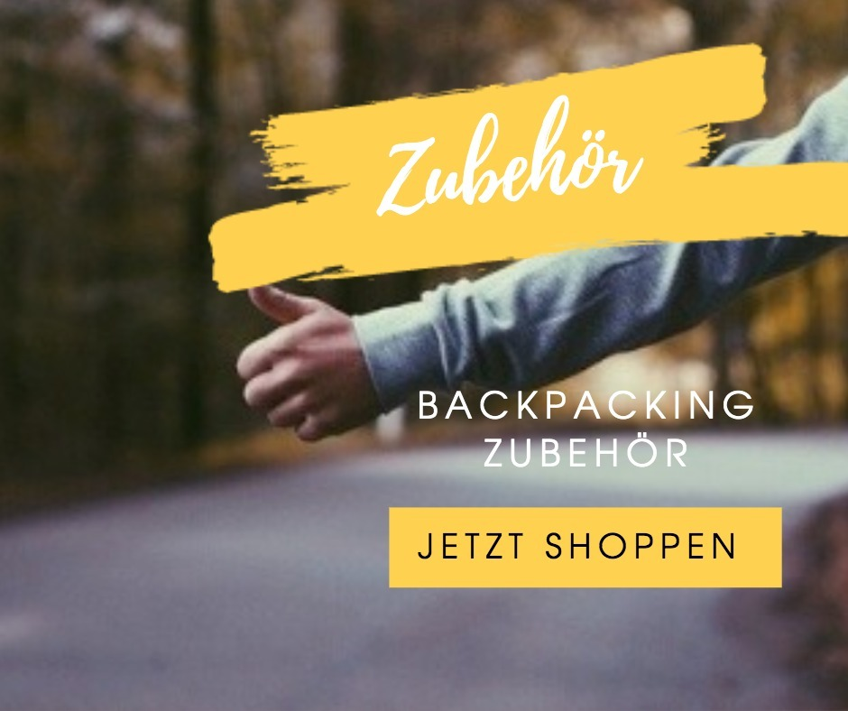 backpacking zubehör