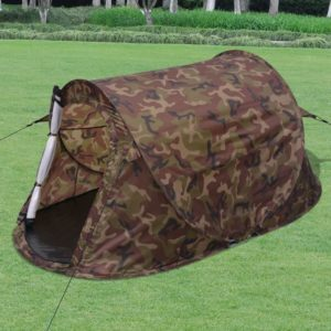 vidaXL 2-Personen Pop-up Zelt Camouflage