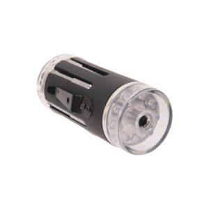 Multifunktionswerkzeug mit 9 LED Taschenlampe - Schwarz