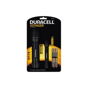 DURACELL Taschenlampe Promo Pack DUO-E schwarz