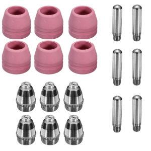 18 Stücke AG60 SG55 Verbrauchsmaterial Pilot Arc Taschenlampe Für CUT50F / 60 LGK-60 Plasma Cutter