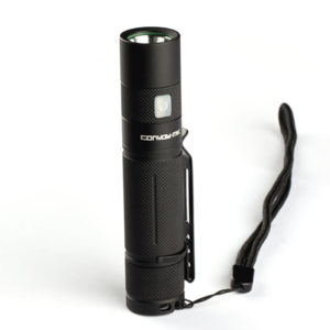 2,5A Convoy S9 XM-L2 1000LM 5 Modi Speicherfunktion USB Wiederaufladbare Super Bright EDC Taschenlampe
