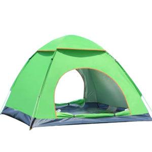 3-4 Personen Instant Up Camping Zelt Wasserdichte Doppeltür Outdoor Automatische Zelt Wandern Sonnenschutz Markise