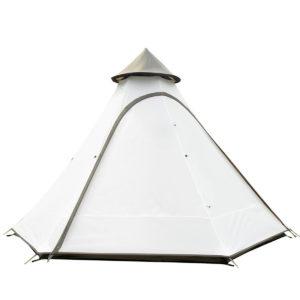 3-4 Personen Outdoor Camping Zelt im indischen Stil Pyramid Family Large Canopy Sunshade