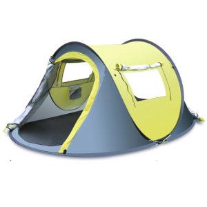 3-4 Personen Outdoor Quick Automatic Open Zelt Wasserdicht Regenfest Baldachin Sonnenschutz Shelter Camping Wandern