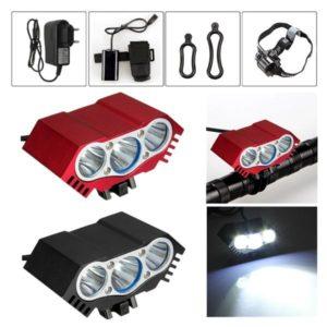 3 x T6 LED Scheinwerfer Fahrrad-Scheinwerfer Stirnlampe