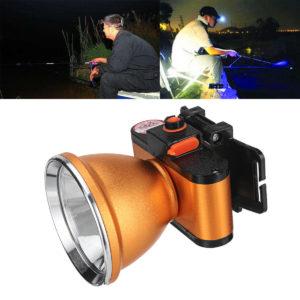 BIKIGHT 35/50 / 60W T6 Mini LED Hohe Helligkeit Angeln Scheinwerfer IPX4 Wasserdichte Taschenlampe Lampe