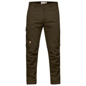 Fjällräven - Karl Pro Zip-Off Trousers - Trekkinghose Gr 58 - Regular - Raw Length schwarz