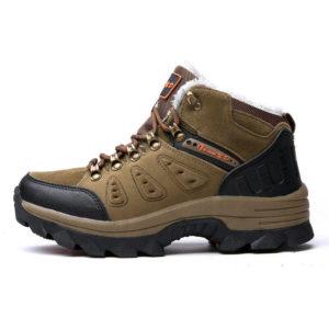 High-Top verdicken Winter warm Cotten Herren Schuhe Anti-Ski-Anti-Pannen Plus Velvet Outdoor Wanderschuhe