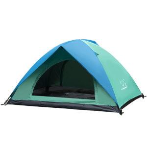Outdoor 2 Personen Zelt wasserdicht Double Layer UV Sonnenschutz Shelter Canopy Camping Wandern