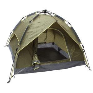 Outdoor 3-4 Personen Camping Zelt Automatische Doppelschicht Wasserdicht Winddicht UV Sonnenschirm Baldachin