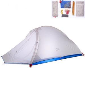 Trackman TM1301 Outdoor Camping Zelt 2 Personen Doppelschichten Professionelle Wandern Picknick-Zelt
