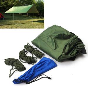 Tragbare 3-4 Person Leichte Camping Zelt Wasserdichte Plane Regenschutz Matte Hammock Abdeckung