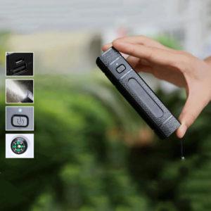 XANES® Super Bright Compass USB wiederaufladbare LED Taschenlampe