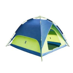 ZENPH 2-4 Personen Vollautomatische Zelt Doppelschichten Wasserdicht Anti-UV UPF50 + Strand Sonnenschirm Outdoor Camping