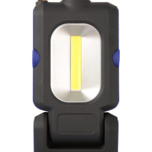 COB Taschenlampe mit Pick-Up-Werkzeug - Schwarz