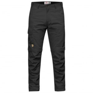 Fjällräven - Karl Pro Zip-Off Trousers - Trekkinghose Gr 48 - Regular - Raw Length schwarz