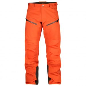 Fjällräven - Bergtagen Eco-Shell Trousers - Regenhose Gr 48 - Long - Fixed Length rot/orange