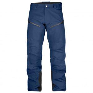 Fjällräven - Bergtagen Eco-Shell Trousers - Regenhose Gr 54 - Long - Fixed Length blau
