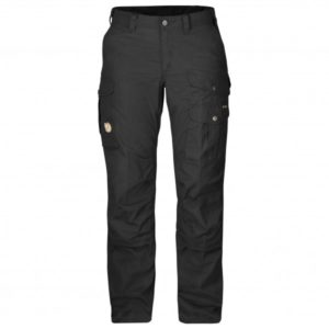 Fjällräven - Women's Barents Pro - Trekkinghose Gr 36 - Regular - Raw Length schwarz