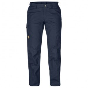 Fjällräven - Women's Karla Pro Trousers - Trekkinghose Gr 44 - Regular - Raw Length schwarz