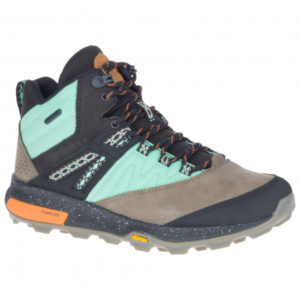 Merrell - Women's Zion Mid WP X Unlikely Hikers - Wanderschuhe Gr 40 schwarz/grau