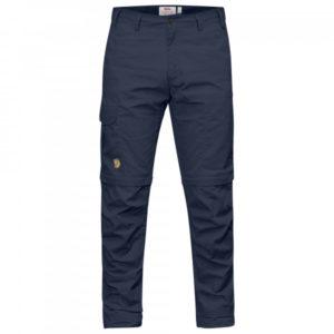 Fjällräven - Karl Pro Zip-Off Trousers - Trekkinghose Gr 44 - Regular - Raw Length blau/schwarz