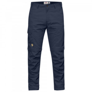Fjällräven - Karl Pro Zip-Off Trousers - Trekkinghose Gr 46 - Regular - Raw Length blau/schwarz