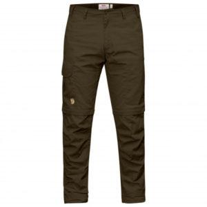 Fjällräven - Karl Pro Zip-Off Trousers - Trekkinghose Gr 46 - Regular - Raw Length schwarz