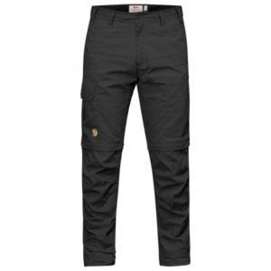 Fjällräven - Karl Pro Zip-Off Trousers - Trekkinghose Gr 52 - Regular - Raw Length schwarz
