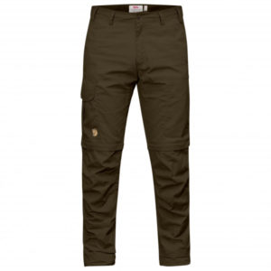 Fjällräven - Karl Pro Zip-Off Trousers - Trekkinghose Gr 54 - Regular - Raw Length schwarz